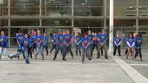 Flash mob, journée sport campus - SIUAPS de Valence