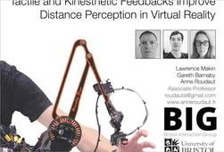 a02 - Tactile and Kinesthetic Feedbacks Improve Distance Perception in Virtual Reality