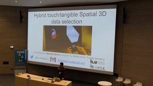 ic02 - Hybrid touch/tangible spatial 3D data selection