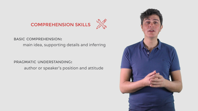 Comprehension: skills and strategies for the TOEFL