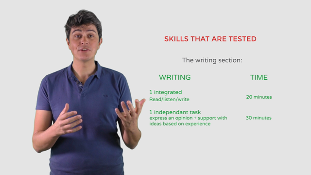 Toefl Preparation | Writing section: General strategy and tips