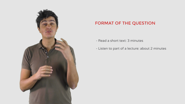Toefl Preparation | Writing section: Question 1