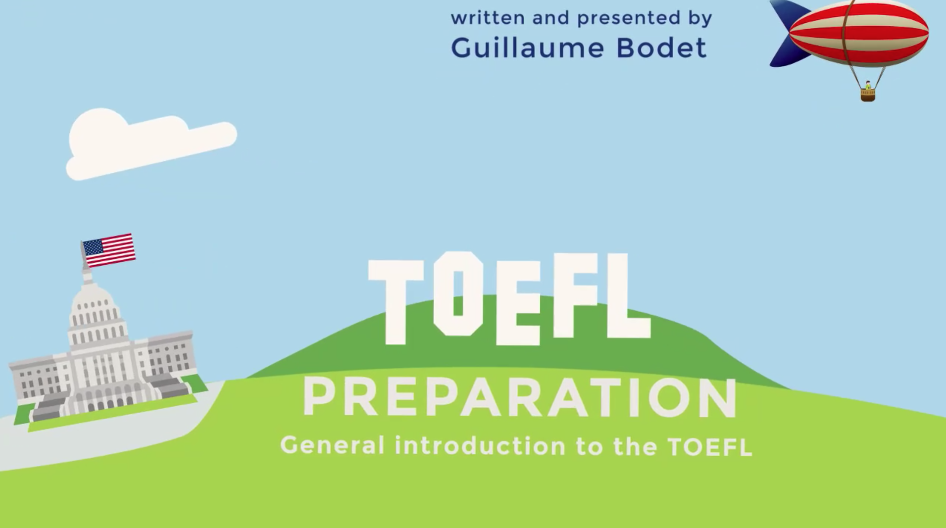 General introduction to the TOEFL
